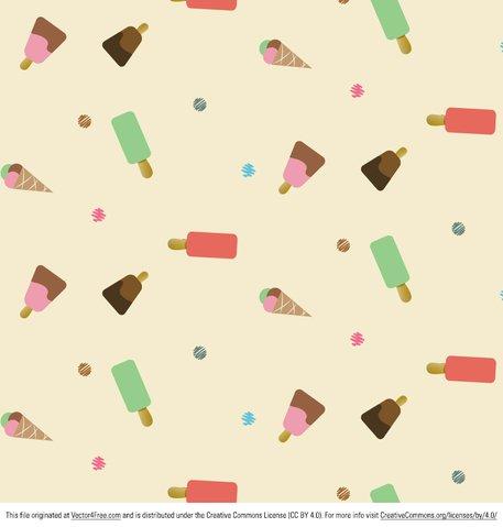 Icecream Pattern