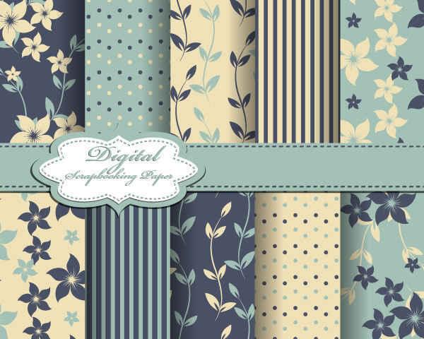 Fabrics Pattern Background