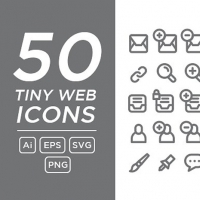 TINY WEB ICONS FREEBIE