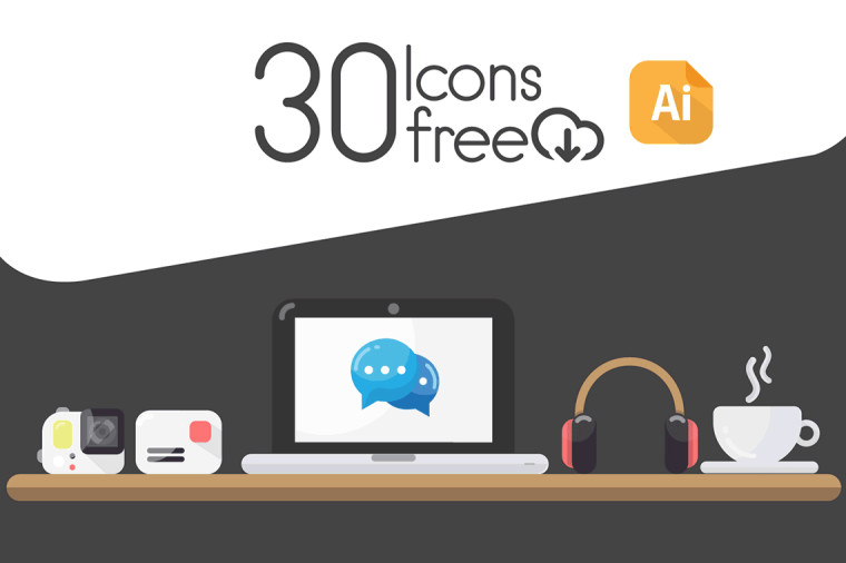 30 FREE WORKSPACE ICONS