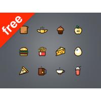 60 FREE FOOD ICONS
