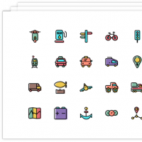 FREE 2000 ICONS BUNDLE