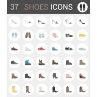 37 SHOE ICONS