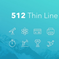 FREE THIN LINE ICONS BUNDLE