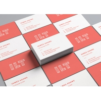 Perspective Business Cards MockUp #2