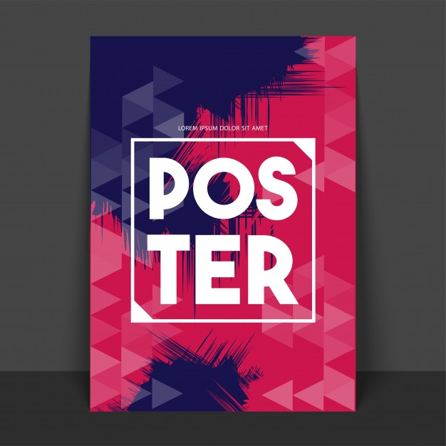 Abstract Poster, Banner or Flyer