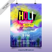 Holi Festival Brochure