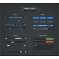 Blaubarry UI Kit