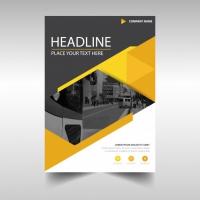 Modern Yellow Business Flyer Template