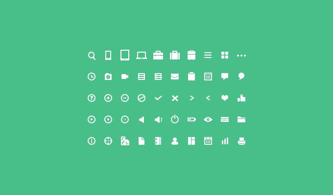 50 Mini Icon Set