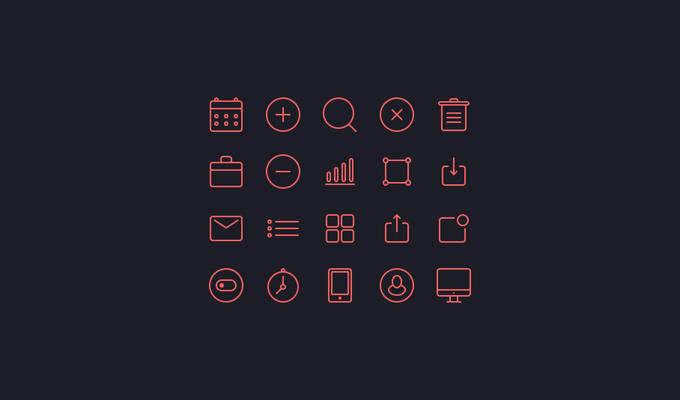 Small Icon Set