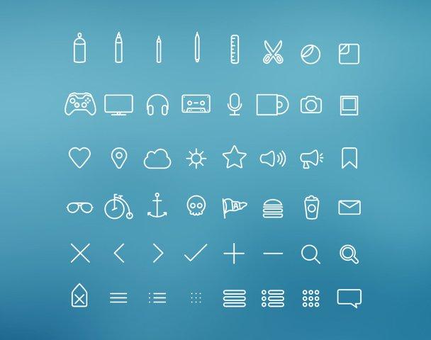 Hangloose Icon Set