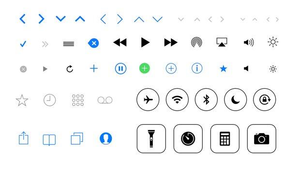 Free iOS 7 Icons
