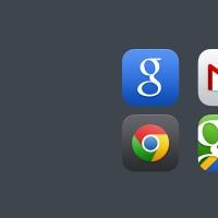 Google iOS 7 App Icons