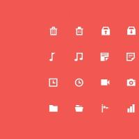 30 Flat Icons
