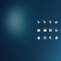 Mini Glyph Icons