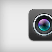 iOS Lens Icon Psd