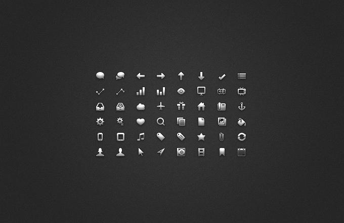 Glyph UI Icon Set