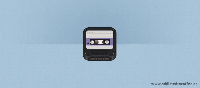 iOS Retro Cassette Icon