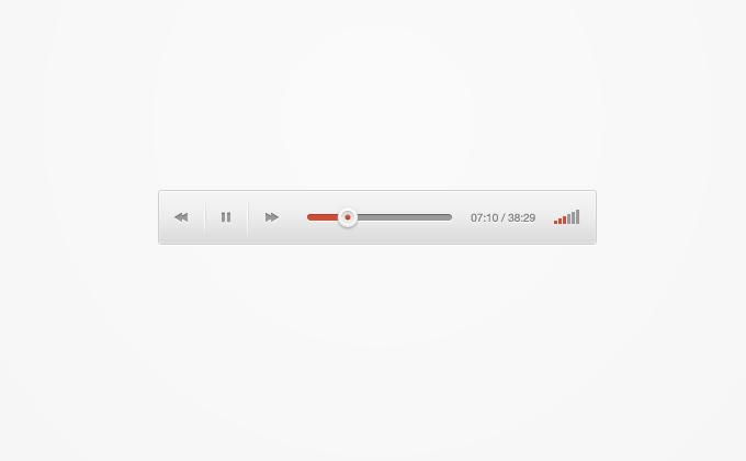 Google Audio Player Redesigned