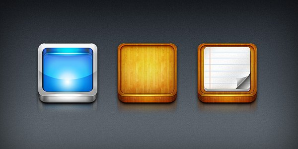 iPhone App Icon Templates