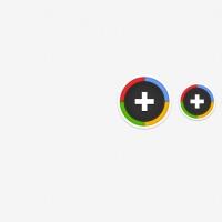 Sexy Round Google Plus Icons