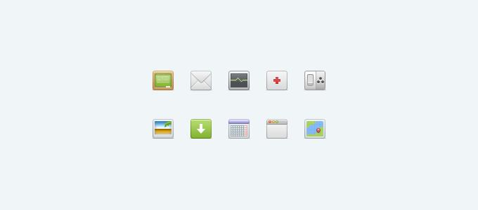 Mush Icon Set