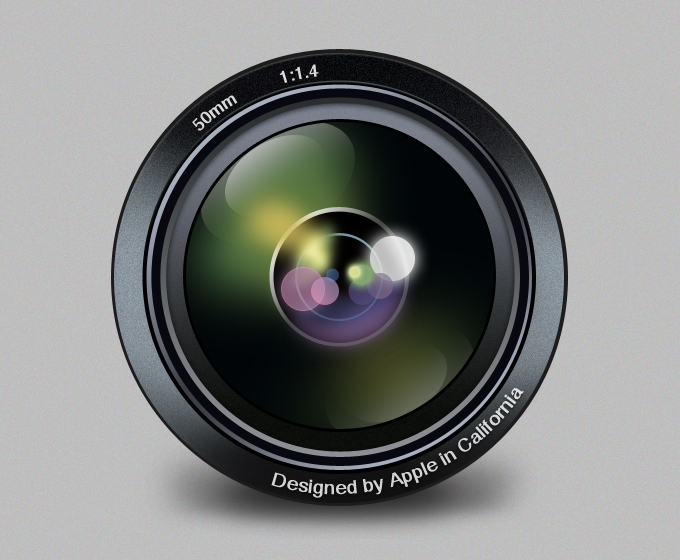 Aperture Replacement Icon PSD