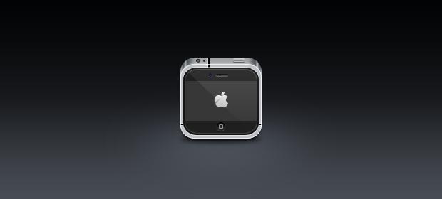 Mini iPhone 4 Icon