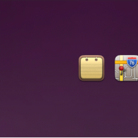 Notes, Maps, Calendar, App Store, and Clock Replacement Icons