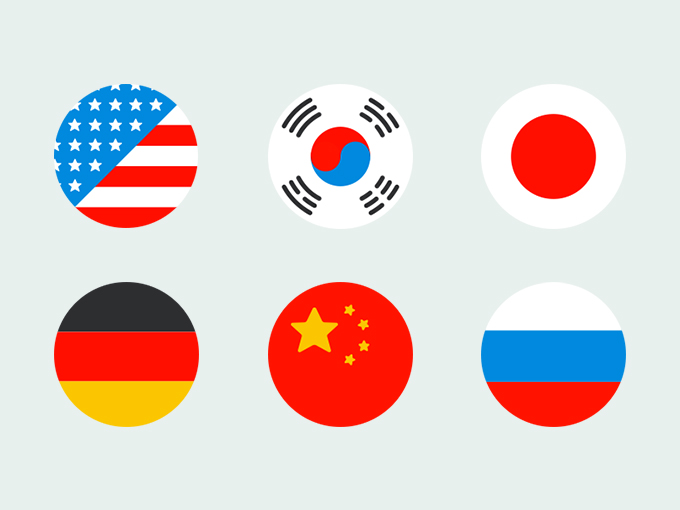 Flat-Flags