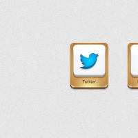 Twitter & Facebook Icons