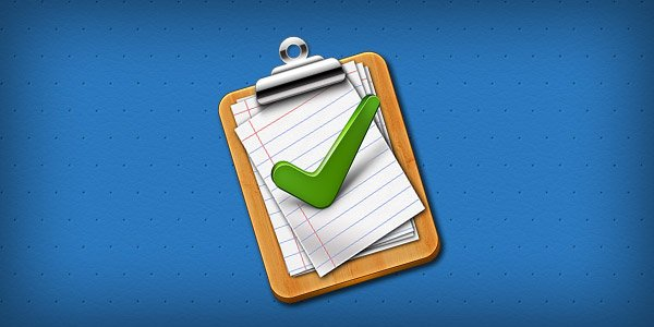 Tick mark approved clipboard Icon