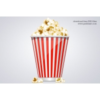 Popcorn Box Icon