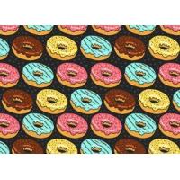 Free Donuts Seamless Pattern