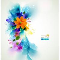 Flower Pattern Banner Vector-15