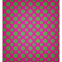 Vibrant Retro Style Seamless Petal Pattern