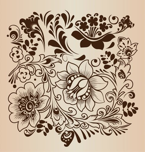 Decorative Flower Pattern