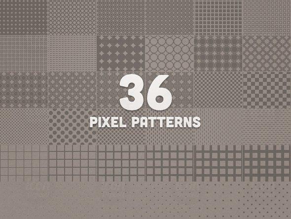 36 Pixel Pattens