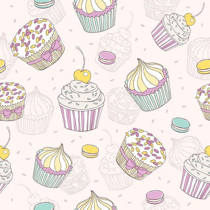 Cartoon Dessert Background