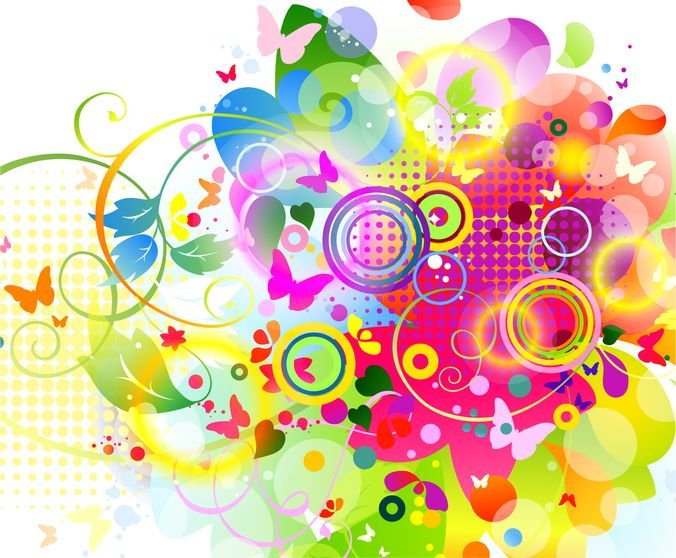Abstract Design Vector Graphic Background