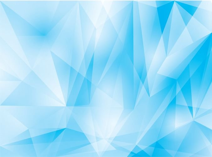 Abstract Geometrical Blue Background