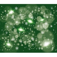 Greeny Retro Stars Free