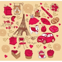 French Red Rose Theme