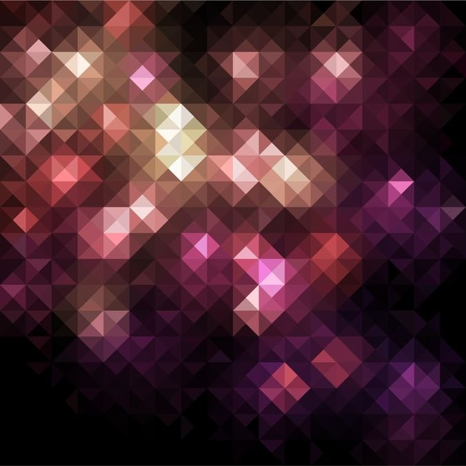 Abstract Mosaic Vector Background Graphic