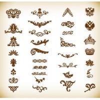 Vintage Elements for Your Design Vector Set