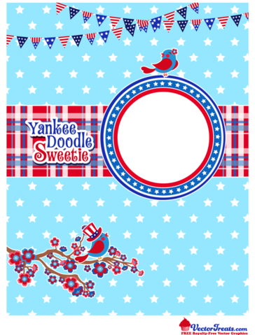 Free 4th of July Vector Graphics to Show