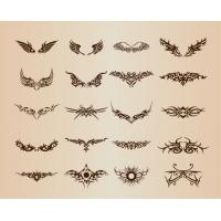 Tattoo Elements Vector Set