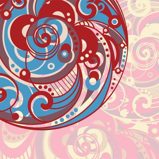 Spiral Pattern Background