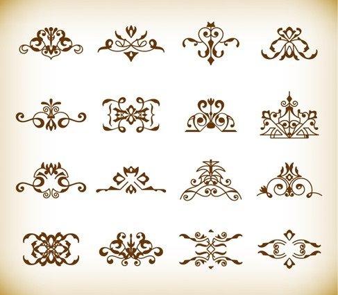 Decorative Design Elements Vector Set